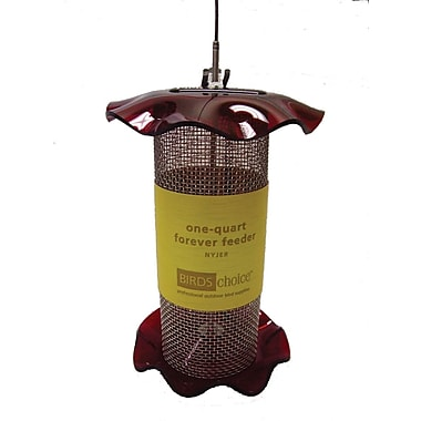 Birds Choice Forever Nyjer/Thistle Feeder; 14'' H x 5'' W x 5'' D