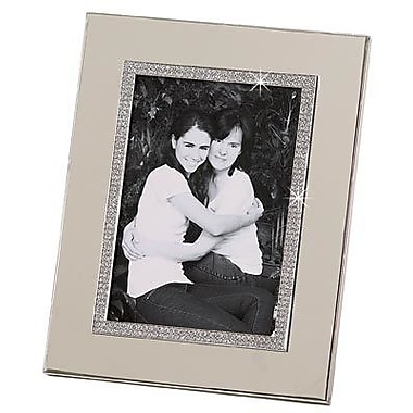 Creative Gifts International Glitter Galore Picture Frame; 5'' x 7''