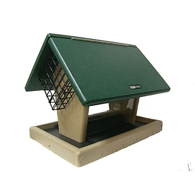 Birds Choice 7 Quart 2-Sided Recycled Suet Bird Feeder