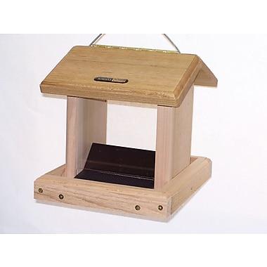 Birds Choice 2.50 Quart 2-Sided Hopper Bird Feeder