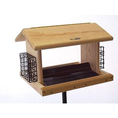 Birds Choice 11 Quart 2-Sided Cedar Suet Bird Feeder