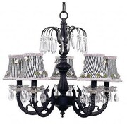 Jubilee Collection Waterfall 5-Light Candle-Style Chandelier
