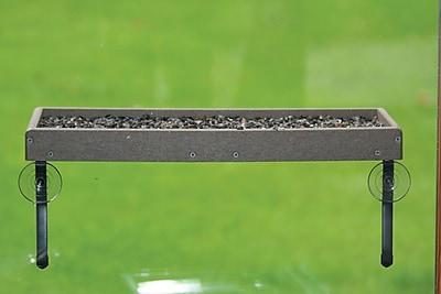 Birds Choice Recycled Window Mount Platform Tray Bird Feeder (WYF078277616735) photo