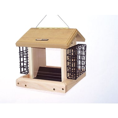 Birds Choice 2.50 Quart 2-Sided Suet Bird Feeder