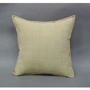 Essential Mendon Embossed Suede Toss Throw Pillow (Set of 2); Tan