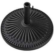 Bond Veranda Envirostone Umbrella Base; Black