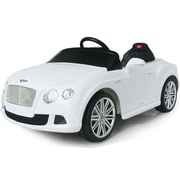 Big Toys Rastar Bentley GTC 12V Battery Powered Car; White