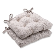 Pillow Perfect Swagger Cut Outdoor Dining Chair Cushion (Set of 2)