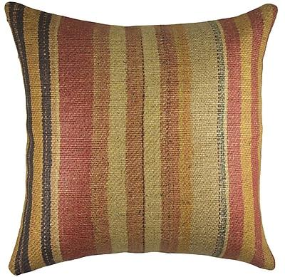 TheWatsonShop Nomad Burlap Throw Pillow