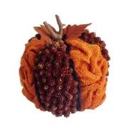 Silk Flower Depot Pumpkin Sculpture