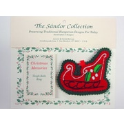 The Sandor Collection Christmas Memories Sleigh Bells Ring Christmas Tree Ornament