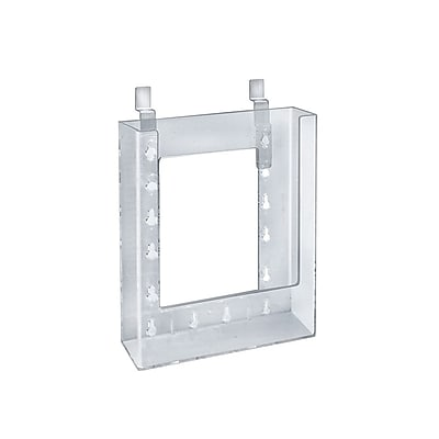 Azar Displays Slatwall Brochure Holder 9 x 6-inch 10/Pack