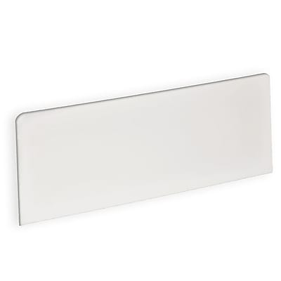 Azar Displays Rectangle Header Sign 6 x 16-inch Each