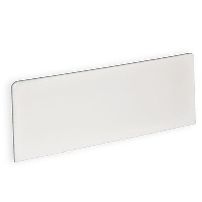Azar Displays Rectangle Header Sign 5.5 x 13.5-inch Each