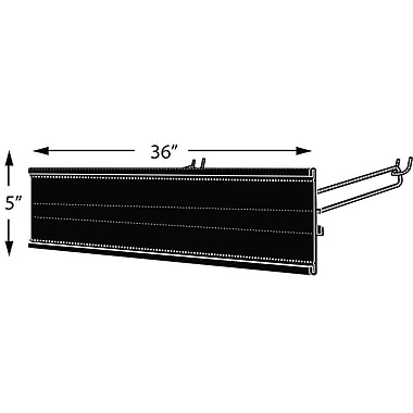 Azar Displays Extended Graphic Sign Holder, 5