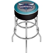 Trademark Global NBA NBA1000-CH Charlotte Hornets Steel Padded Swivel Bar Stool