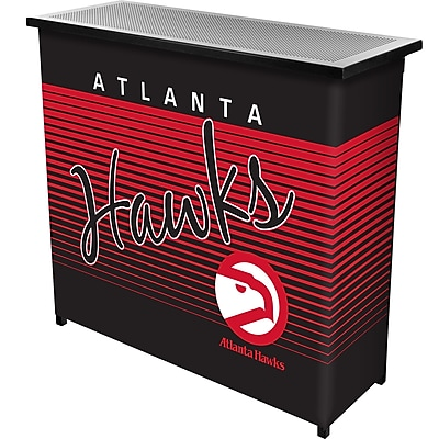 Trademark Global NBA NBA8000HC-AH Portable Bar with Case; Atlanta Hawks