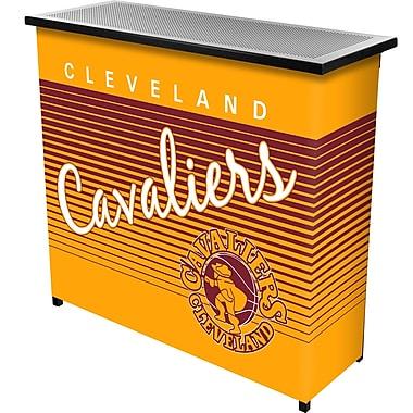 Trademark Global NBA NBA8000HC-CC Portable Bar with Case, Cleveland Cavaliers