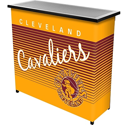 Trademark Global NBA NBA8000HC-CC Portable Bar with Case; Cleveland Cavaliers