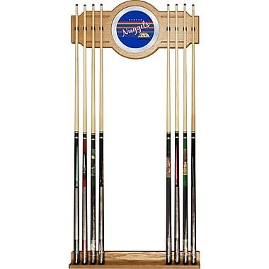 Trademark Global NBA NBA6000HC-DN Cue Rack with Mirror, Denver Nuggets