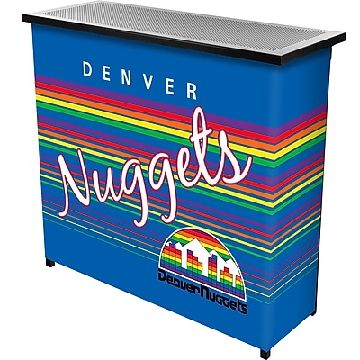 Trademark Global NBA NBA8000HC-DN Portable Bar with Case; Denver Nuggets