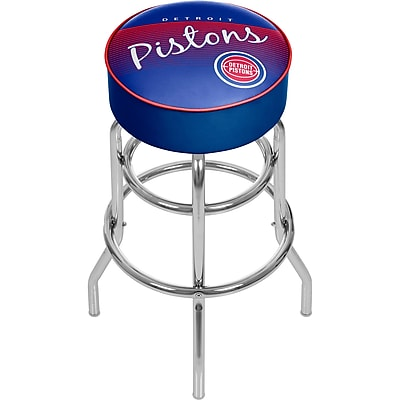 Trademark Global NBA 31'' Novelty Swiveling Base Padded Bar Stool, Blue (886511604957)