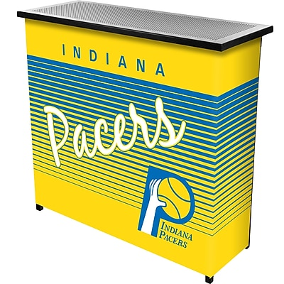 Trademark Global NBA NBA8000HC-IP Portable Bar with Case; Indiana Pacers