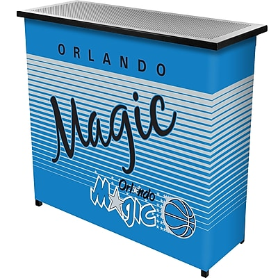 Trademark Global NBA NBA8000HC-OM Portable Bar with Case, Orlando Magic