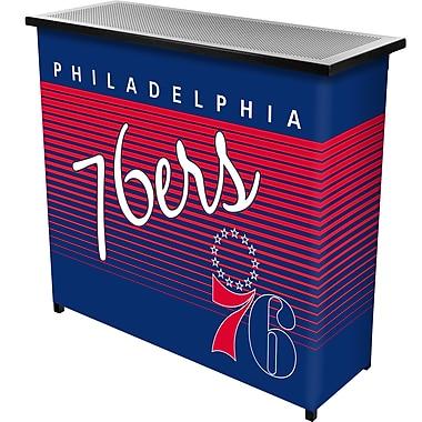 Trademark Global NBA NBA8000HC-P76 Portable Bar with Case, Philadelphia 76ers