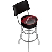 Trademark Global NBA Hardwood Classics NBA1100HC-PTB Steel Bar Stool with Back, Portland Trail Blazers