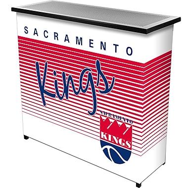 Trademark Global NBA NBA8000HC-SK Portable Bar with Case, Sacramento Kings