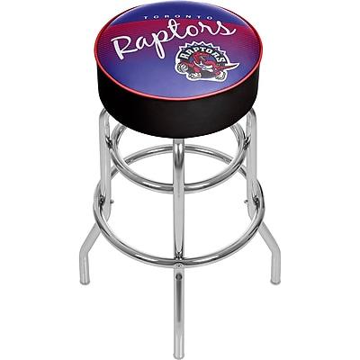 Trademark Global NBA 31'' Novelty Swiveling Base Padded Bar Stool, Purple (886511605138)