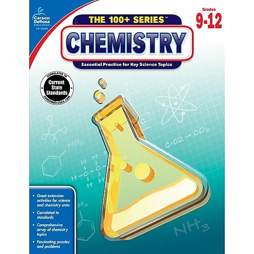 Carson-Dellosa The 100+ Series Chemistry Book