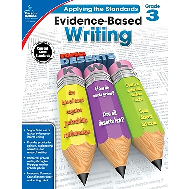 Carson-Dellosa Evidence-Based Writing Workbook for Grade 3 (104826)