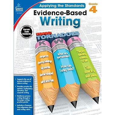 Carson-Dellosa Evidence-Based Writing Workbook for Grade 4 (104827)