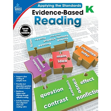 Carson-Dellosa Evidence-Based Reading Workbook for Grade K (104829)