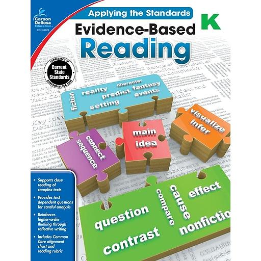 Carson-Dellosa Evidence-Based Reading Workbook for Grade K
