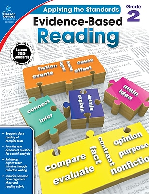Carson-Dellosa Evidence-Based Reading Workbook for Grade 2