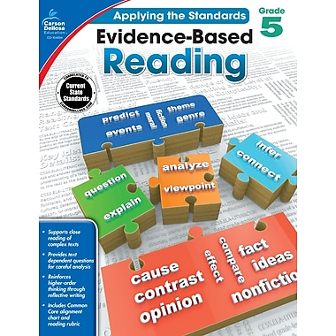 Carson-Dellosa Evidence-Based Reading Workbook for Grade 5