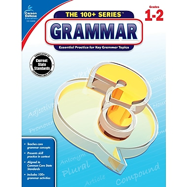 Carson-Dellosa The 100+ Series Grammar Book for Grade 1 to 2 (104835)