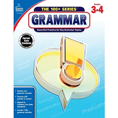 Carson-Dellosa The 100+ Series Grammar Book for Grade 3 to 4 (104836)