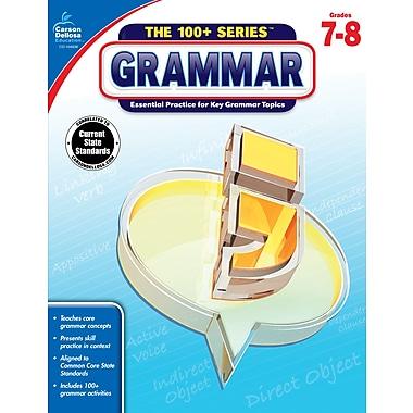 Carson-Dellosa The 100+ Series Grammar Book for Grade 7 to 8 (104838)