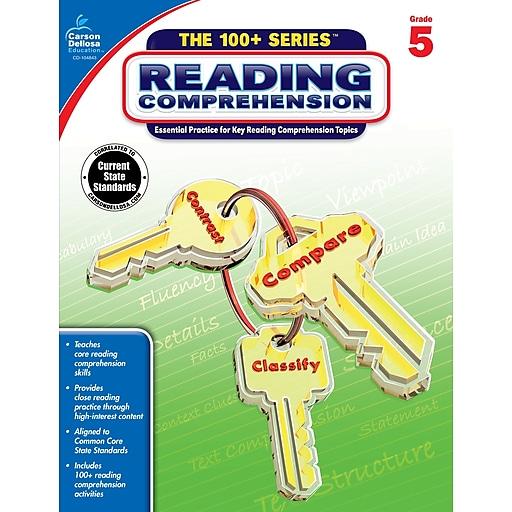 Carson-Dellosa Reading Comprehension Workbook for Grade 5