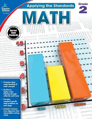 Carson-Dellosa Math Workbook for Grade 2