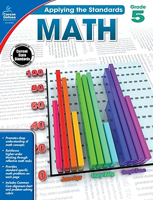 Carson-Dellosa Math Workbook for Grade 5