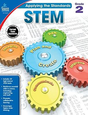 Carson-Dellosa Applying the Standards STEM Workbook for Grade 2
