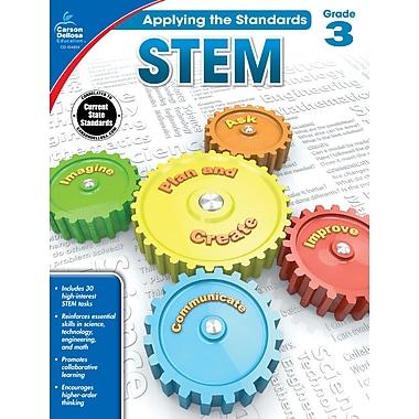 Carson-Dellosa Applying the Standards STEM Workbook for Grade 3 (104854)