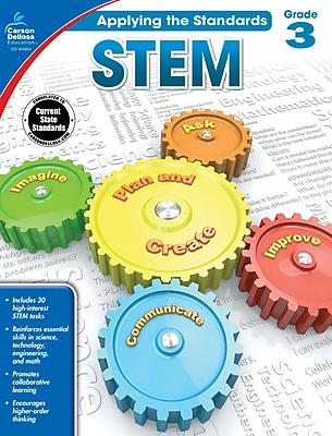 Carson-Dellosa Applying the Standards STEM Workbook for Grade 3
