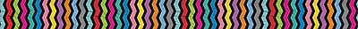 Carson-Dellosa Colorful Chalkboard Straight Borders
