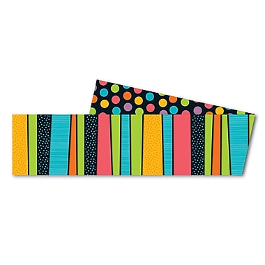 Carson-Dellosa Styling Stripes Straight Borders, 12/pack (108204)
